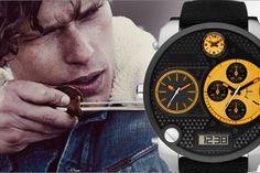 Relógios Diesel – Design único e marcante http://4macho.com/dicas-de-presente-para-namorado-relogios/ #presente para namorado