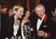 Designer of Baby CZ, Carolina Zapf, at a function with Prince Charles! They look fabulous!