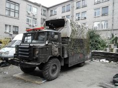 Ukrainian Army Gun Trucks & technical trucks