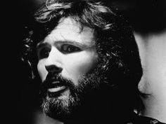 Multi-talented singer, songwriter and actor Kris Kristofferson's headshot taken in 1972