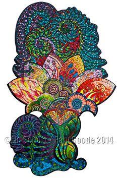 Mosaic Artist Pamela Goode  Installations