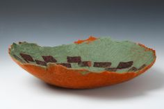 Hemisphere Handmade Felt, Serving Bowls, Decorative Bowls, Textiles, Tableware, Home Decor, Dinnerware, Decoration Home, Dishes