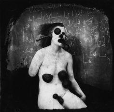 La collectrice des fluides, Nouveau-Mexique , 1982, Joël-Peter Witkin