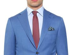 Blue is a key color for Spring Summer. Discover all the hues to create an elegant and Mediterranean-inspired aesthetic on Canali.com or at your nearest boutique #suits #menswear #madeinitaly