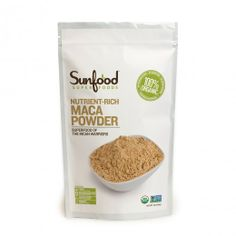 Maca, 1lb, Certified Organic, Non-GMO | Sunfood.com   Great for Anti Aging, Balance hormones, Bone Strength, Brain Function, Endurance, energy, Expecting Mums, Fiber, Protein, Reproductive Health, Stamina...  Supports the immune functions  Supports the endocrine System and a healthy libido