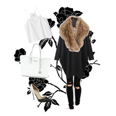 A fashion look from November 2014 featuring Monki tops, MM6 Maison Martin Margiela coats and ASOS jeans. Browse and shop related looks.
