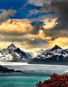 North part of Perito Moreno Glacier and Lago Argentino, Santa Cruz Province. Los Glaciares National Park. Patagonia, Argentina | Nora de Angelli