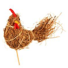 Pick Chicken straw #Broekhof #pick #florist #easter http://www.broekhof.nl/en-us/product/93185086/pick-chicken-straw-12cm-50cm-stick-natural.aspx