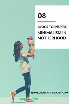 A curated list of blogs to help inspire minimalism in motherhood. Encouragement to live more simply and thrive in motherhood. via @minimalism_mom