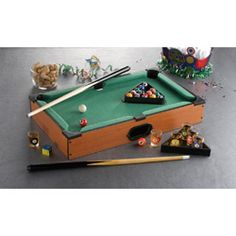 @Overstock - Add a new game to your next adults-only evening with this novelty tabletop pool set from Game Night by Jay. Your group will have competitive fun with this game that will have players drinking from the collectible pool ball-themed shot glasses.http://www.overstock.com/Home-Garden/Game-Night-Table-Top-Pool/6808329/product.html?CID=214117 $34.99