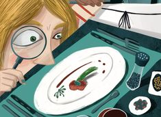 New cuisine and gender inequality in cooking history. Only men get the applause. Published by Diario Sur. Gender Inequality, Art Director, Editorial, History, Cooking, Illustration, Anime, Men, Design
