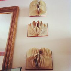 they're better in a series. Book Art, Display, Create, Artist, House, Home Decor, Floor Space, Billboard, Home