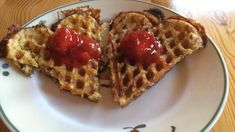 Mitt liv med lavkarbo. En blogg hvor jeg deler oppskrifter, enkle oppskrifter som passer i en hektisk hverdag. Lchf, Keto, Waffles, Food And Drink, Low Carb, Snacks, Breakfast, Desserts, Wine