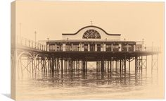 Cleethorpes Pier by Jason Moss Photography 1 of 2 Free Ecommerce, Canvas Prints, Building, Photography, Decor, Photograph, Decoration, Photo Canvas Prints, Buildings