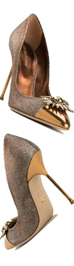 Sergio Rossi Embellished Pumps Fall 2014 #Shoes #Heels #SergioRossi