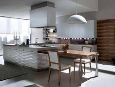 Japanese kitchen design by Berkeley Mills the Sereno bamboo