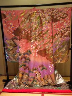 Gorgeous Pink Wedding Kimono