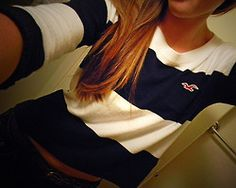 Stunning Hollister striped long sleeve love this