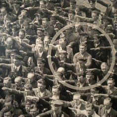 """August Landmesser refused to salute.The photo was taken in Hamburg in 1936 during the celebrations for the launch of a ship. In the crowd, one person refuses to raise his arm to give the Nazi salute. The man was August Landmesser.After fathering children with a Jewish woman, he'd been found guilty of """"dishonoring the race"""" under Nazi racial laws and had come to oppose Hitler's regime.In February 1944 he was drafted into a penal unit where he was declared missing in action and presumably…"""