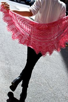 Ravelry: Julianna pattern by Kirsten Kapur. Wow. Just wow. The beauty of this shawl is matched by none - it's perfection