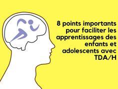 Le cerveau TDA/H est un cerveau de sprinteur plutôt que de marathonien. Il est donc important que les enfants et adolescents avec TDA/H connaissent leur capacité d'attention et se dotent d'outils pour la maintenir et la renforcer lors de leurs apprentissages. Balle Anti Stress, Coaching, Education Positive, Adolescents, Pediatrics, Adhd, Parenting, Memes, School