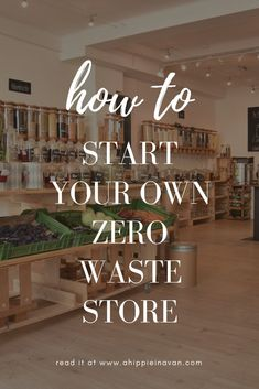 learn how to start a zero waste store? Opening a zero waste store in your community is one of the most impactful things you can do to protect the planet! Every Friday, I interview successful zero waste shop owners around the globe to learn exactly Going Zero Waste, No Waste, Reduce Waste, Bulk Store, Eco Store, Farm Store, Grocery Store, Plastik Recycling, Zero Waste Store