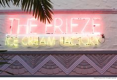 Steffy took us to her favorite ice cream spot in Miami. How could we say now to that?!