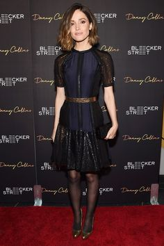 Rose Byrne in Lanvin attends the NYC premiere of 'Danny Collins'. #bestdressed