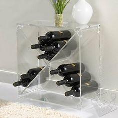 24 Bottle Acrylic Wine Cube at Wine Enthusiast - $169.95