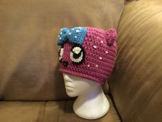 Custom cartoon crochet hat made for animation creation artist. Hat Making, Crochet Hats, Beanie, Animation, Cartoon, Artist, Knitting Hats, Beanies, Cartoons