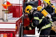 CONEXÃO BOMBEIRO : Bombeiros simulam incêndio em cinema