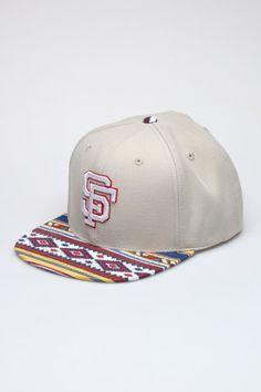American Needle SF Giants Tribal Hat