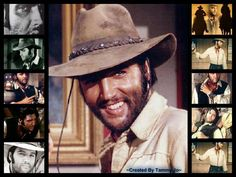 """collage: Cowboy In The Movie """"Charro"""" Elvis was even a cowboy, puts him with the best of the best."""