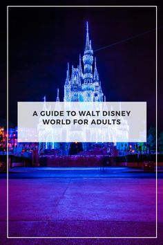 Are you an adult that loves Walt Disney World? So are we! Check out our guide to everything the parks and more have to offer for adults!