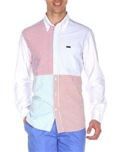 Club Fit - Striped Seersucker Cotton
