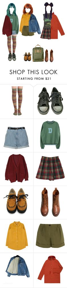 """Foresters"" by forest-life ❤ liked on Polyvore featuring Free People, AllSaints, H&M, Burberry, Paul Smith and Fjällräven"
