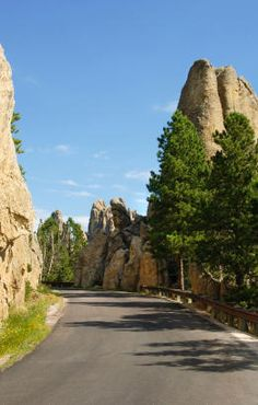 Dramatic rock spires along the Needles Highway in the Black Hills, South Dak. You are in the right place about sylvan lake South Dakota Here we offer you the most beautiful pictures about the corn pal Places In Usa, Places To See, Sioux Falls South Dakota, South Dakota Travel, Sylvan Lake, South America Destinations, Custer State Park, Needles Highway, State Parks
