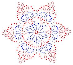 snowflakes crochet 245 schema                                                                                                                                                                                 More