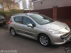 peugeot 207 hdi i.6 diesel sw estate full leather  60+mpg cheap tax px possible