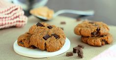 Healthy peanut butter cookies from Chocolate Covered Katie