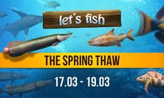 The Spring Thaw http://wp.me/p3xnRX-6F #letsfish