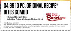 Check out offers from KFC using GeoQpons app on your phone. Visit www.geoqpons.com
