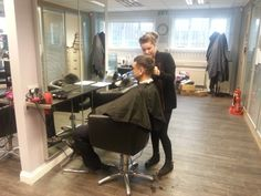 Barbering students at ALD Hair & Beauty Academy Gateshead