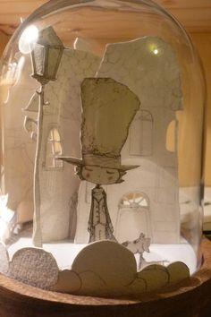 Coup de coeur illustrations - On est bien chez laurette Diy Paper, Paper Art, Paper Crafts, Kirigami, Chez Laurette, Diy And Crafts, Crafts For Kids, 3d Craft, The Bell Jar