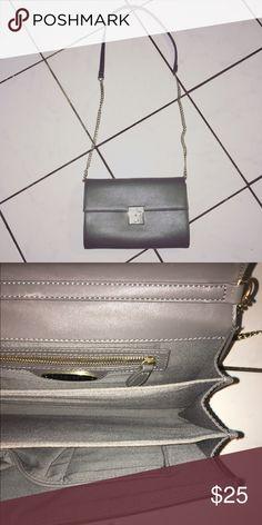 Forever 21 vegan leather gray cross body bag New! Forever 21 Bags Crossbody Bags