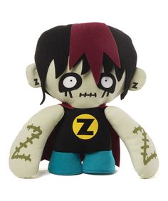Look at this GUND Zombie Superhero on #zulily today!