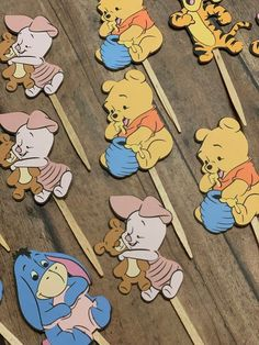 Winnie The Pooh Themes, Winnie The Pooh Birthday, Vintage Winnie The Pooh, Boys First Birthday Cake, Diy Birthday, Unique Baby Shower Themes, Baby Shower Decorations, Winnie Poo, Pooh Bebe