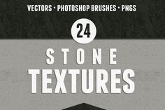 Check out 24 Seamless Stone Textures by Enth Design  on Creative Market