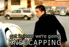We're going kneecapping... | Person of Interest hahahaha so John...
