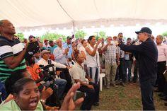 Presidente Medina financiará 5 mil tareas de tierra en Peravia